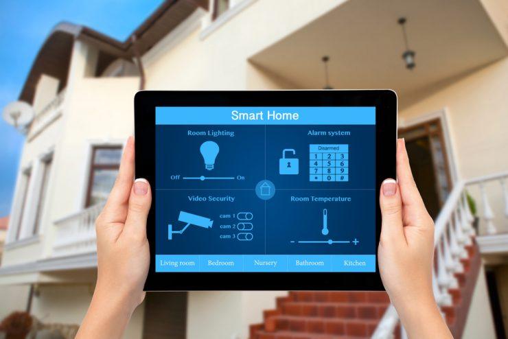 خانه هوشمند در نتیجه کم کردن مصرف انرزی است