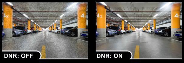 DNR یا (Digital noise reduction)تکنولوژی دیجیتال است که مربوط به دوربین های مداربسته می شود